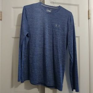 Under Armour loose fit large blue long sleeve